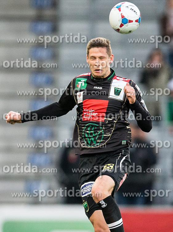 05.04.2014, Tivoli Stadion, Innsbruck, AUT, 1. FBL, FC Wacker Innsbruck vs RZ Pellets WAC, 31. Runde, im Bild (v.l.) Kopfball von Stipe Vucur (Innsbruck) // (v.l.) Kopfball von Stipe Vucur (Innsbruck) during Austrian Football Bundesliga 31th round match between FC Wacker Innsbruck and RZ Pellets WAC at the Tivoli Stadion in Innsbruck, Austria on 2014/04/05. EXPA Pictures © 2014, PhotoCredit: EXPA/ Johann Groder