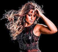 São Paulo, SP - Retratos da cantora e atriz Jú Andrade para CD demo - 10/01/2009