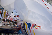 Chippewa sailing Race 4 at Antigua Sailing Week.