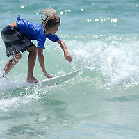 The 9th Annual O'Neil/Sweetwater Pro-Am Surf Fest was held Sunday July 13, 2014 at Wrightsville Beach, N.C. (Jason A. Frizzelle)