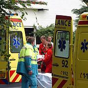 Vrouw uit raam gevallen Noord Crailoseweg 25 Huizen