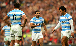 Martin Landajo of Argentina - Mandatory by-line: Robbie Stephenson/JMP - 11/11/2017 - RUGBY - Twickenham Stadium - London, England - England v Argentina - Old Mutual Wealth Series