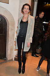 THOMASINA MIERS at the Fortnum & Mason and Quintessentially Foundation Fayre of St.James's in association with The Crown Estate held at St.James's Church, Piccadilly followed but a reception at Fortnum & Mason, Piccadilly,London on 5th December 2013.