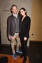Laurence Fox and Lilah Parsons at the Passavant and Lee New Collection Launch, St.Martin's Lane Hotel, London England. 19 February 2018.