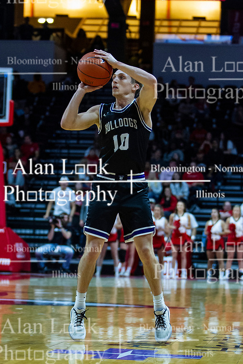 NORMAL, IL - October 23: Turner Scott during a college basketball game between the ISU Redbirds and the Truman State Bulldogs on October 23 2019 at Redbird Arena in Normal, IL. (Photo by Alan Look)