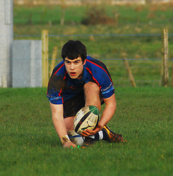 Dwayne Corcoran scored all 17pts in the league final win over Galwegians ...Pic Conor McKeown
