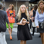 Il terzo giorno della Settimana della Moda a Milano: Franca Sozzani direttrice di Vogue Italia<br /> <br /> The thirDay of Milan fashion week: Franca Sozzani editor in chief of Vogue Italy