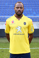 Stoppila SUNZU - 04.10.2014 - Photo officielle Sochaux - Ligue 2 2014/2015<br /> Photo : Icon Sport
