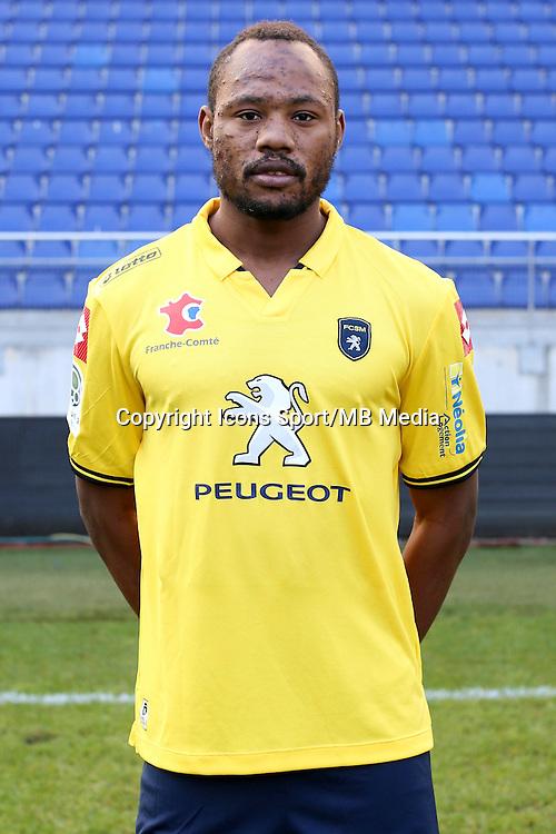 Stoppila SUNZU - 04.10.2014 - Photo officielle Sochaux - Ligue 2 2014/2015<br /> Photo : Icon Sport