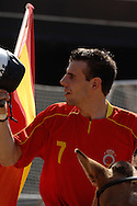 World horseball championship, La Rural Buenos Aires, Argentina 2006.Members of the spanish national team at the opening ceremony