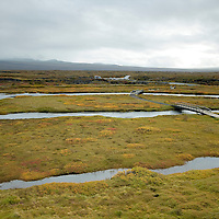 View of THungevllir National park at Iceland