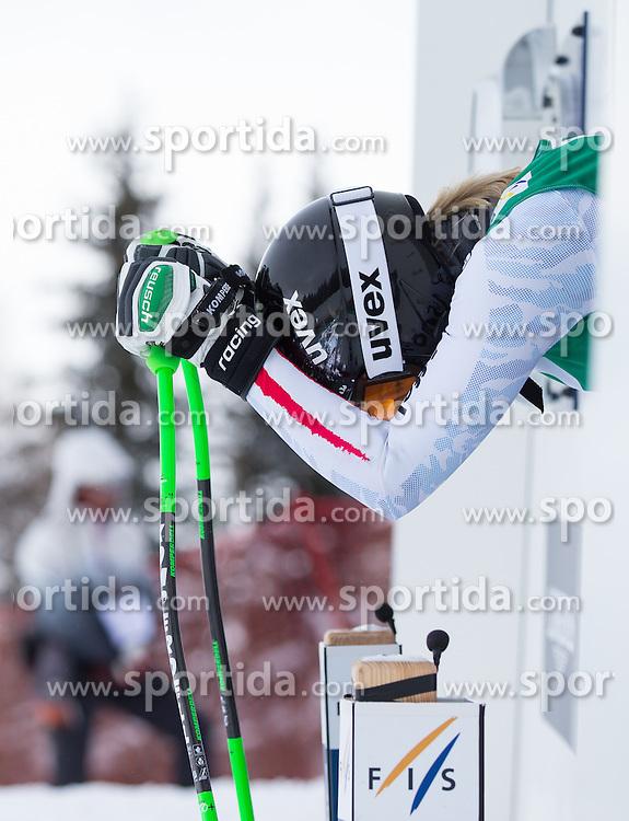07.02.2013, Planai, Schladming, AUT, FIS Weltmeisterschaften Ski Alpin, 2. Training, Abfahrt, Damen, im Bild Regina Sterz (AUT) // Regina Sterz of Austria before 2nd practice of the ladies Downhill at the FIS Ski World Championships 2013 at the Planai Course, Schladming, Austria on 2013/02/07. EXPA Pictures © 2013, PhotoCredit: EXPA/ Johann Groder
