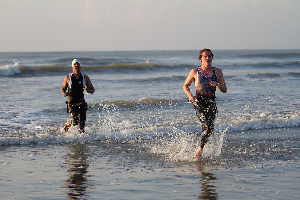 2010 Kiawah Island Triathlon at Beachwalker County Park on Kiawah Island, SC
