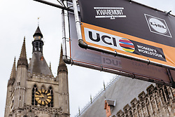 Fourth round of the UCI Women's WorldTour about to get underway in Ieper - Women's Gent Wevelgem 2016, a 115km UCI Women's WorldTour road race from Ieper to Wevelgem, on March 27th, 2016 in Flanders, Belgium.