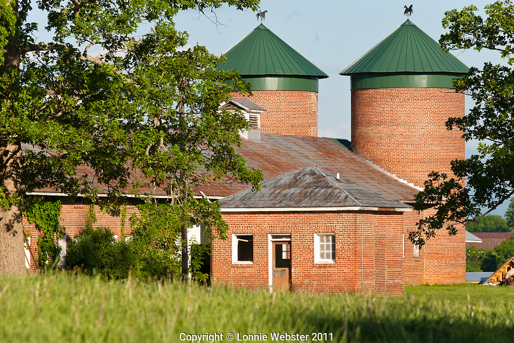 Part of the old Dairy now part of Burke County Community College