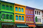 Shops on Arab Street, Singapore, Republic of Singapore