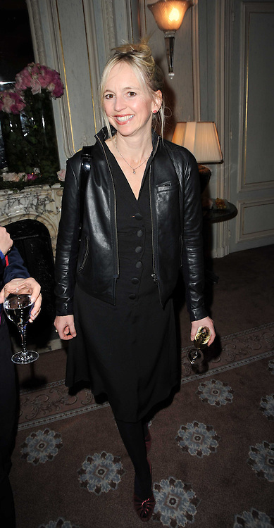 GEORGIA CHANNON at a party to celebrate Penguin's reissue of Nancy Mitford's 'Wigs on The Green' hosted by Tatler at Claridge's, Brook Street, London on 10th March 2010.