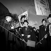 """The """"Burial of the Sardine"""" is a Spanish ceremony celebrating the end of carnival and other festivities."""
