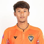 THAILAND - JUNE 25: Varadorn Unart #3 of Nakhonratchasrima Mazda FC on June 25, 2019.<br /> .<br /> .<br /> .<br /> (Photo by: Naratip Golf Srisupab/SEALs Sports Images/MB Media Solutions)
