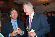 ROCCO FORTE; STUART JOHNSON, Rocco Forte's Brown's Hotel Hosts 175th Anniversary Party, Browns Hotel. Albermarle St. London. 16 May 2013