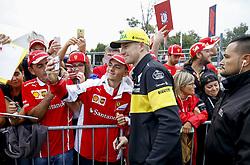 September 2, 2018 - Monza, Italy - Motorsports: FIA Formula One World Championship 2018, Grand Prix of Italy, ..#27 Nico Hulkenberg (GER, Renault Sport Formula One Team) (Credit Image: © Hoch Zwei via ZUMA Wire)
