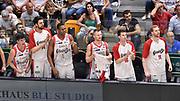 DESCRIZIONE : Campionato 2014/15 Serie A Beko Dinamo Banco di Sardegna Sassari - Grissin Bon Reggio Emilia Finale Playoff Gara4<br /> GIOCATORE : Grissin Bon Reggio Emilia Panchina<br /> CATEGORIA : Ritratto Esultanza Panchina<br /> SQUADRA : Grissin Bon Reggio Emilia<br /> EVENTO : LegaBasket Serie A Beko 2014/2015<br /> GARA : Dinamo Banco di Sardegna Sassari - Grissin Bon Reggio Emilia Finale Playoff Gara4<br /> DATA : 20/06/2015<br /> SPORT : Pallacanestro <br /> AUTORE : Agenzia Ciamillo-Castoria/GiulioCiamillo