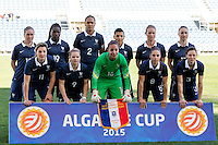 Fifa Womans World Cup Canada 2015 - Preview //<br /> Algarve Cup 2015 Tournament ( Bela Vista Stadium - Parchal ,  Portugal ) - <br /> France vs Denmark  4-1 // Team Group of France , From the left up :<br /> Camille Abily ,Griedge Mbock Bathy ,Wendie Renard ,Kenza Dali ,Amandine Henry ,Gaetane Thiney //<br /> Claire Lavogez ,Eugenie Le Sommer ,Sarah Bouhaddi ,Jessica Houara ,Laure Boulleau