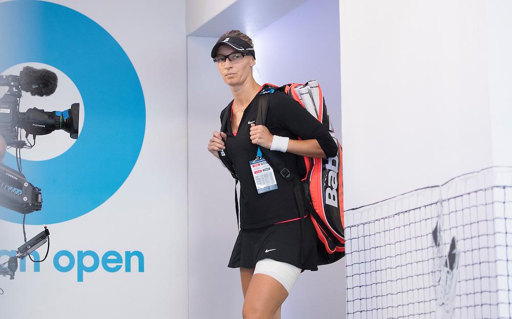 Mirjana Lucic-Baroni of Croatia on day eleven of the 2017 Australian Open at Melbourne Park on January 26, 2017 in Melbourne, Australia.<br /> (Ben Solomon/Tennis Australia)