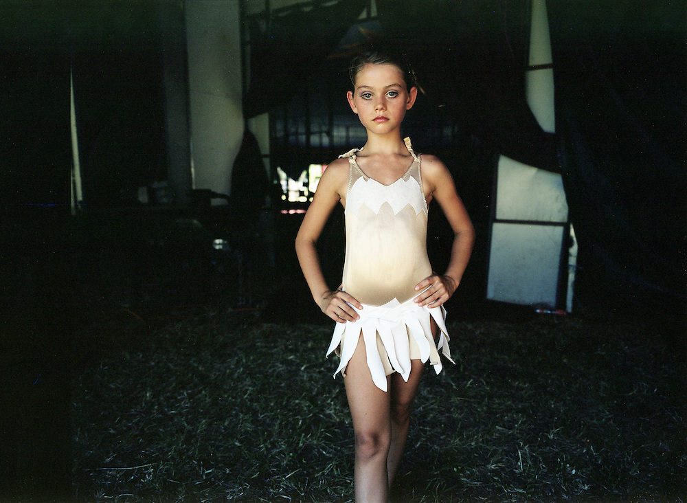 Eleven year old circus performer, Shae.