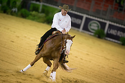 Troy Heikes, (USA), Lil Gun Dunit - Team Competition and 1st individual qualifying  - Alltech FEI World Equestrian Games™ 2014 - Normandy, France.<br /> © Hippo Foto Team - Dirk Caremans<br /> 25/06/14