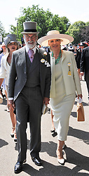 PRINCE & PRINCESS MICHAEL OF KENT at day 1 of the 2011 Royal Ascot Racing festival at Ascot Racecourse, Ascot, Berkshire on 14th June 2011.