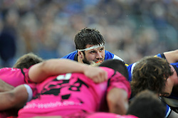 Guy Mercer of Bath Rugby looks on at a scrum - Photo mandatory by-line: Patrick Khachfe/JMP - Mobile: 07966 386802 01/11/2014 - SPORT - RUGBY UNION - Bath - The Recreation Ground - Bath Rugby v London Welsh - LV= Cup