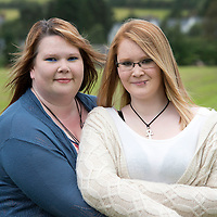Burns victim Alicia Gibson from Aylth, Perthshire, pictured with her mum Fiona.. Alicia burnt her hands in a bath of hot water when she was 13 months old<br /> Picture by Graeme Hart.<br /> Copyright Perthshire Picture Agency<br /> Tel: 01738 623350  Mobile: 07990 594431
