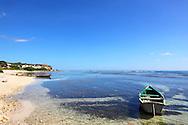 Beach in Cabot Cruz, Granma, Cuba.
