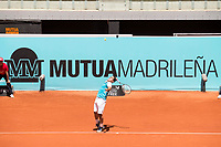 Spanish Nicolas Almagro during Mutua Madrid Open Tennis 2017 at Caja Magica in Madrid, May 09, 2017. Spain.<br /> (ALTERPHOTOS/BorjaB.Hojas)