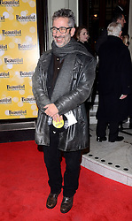 David Baddiel attends Beautiful - The Carole King Musical at The Aldwych Theatre, The Aldwych, London on Tuesday 24 February 2015 February 2015