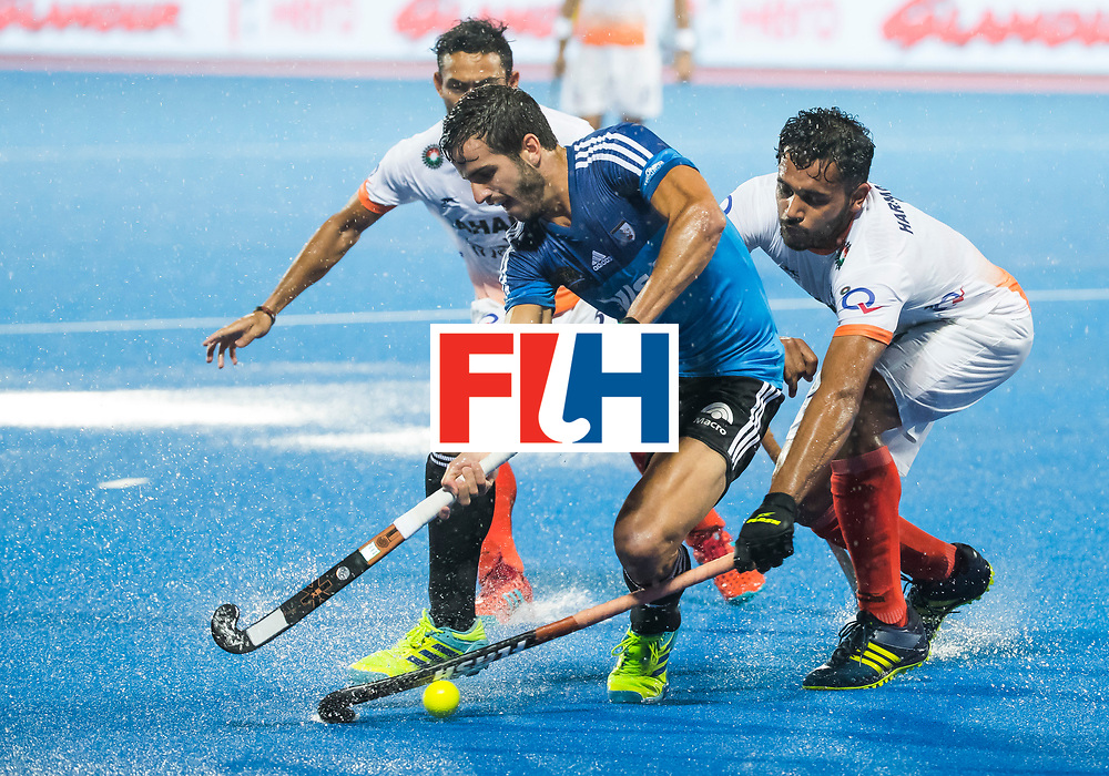 BHUBANESWAR -  Hockey World League finals , Semi Final . Argentina v India.   COPYRIGHT KOEN SUYK