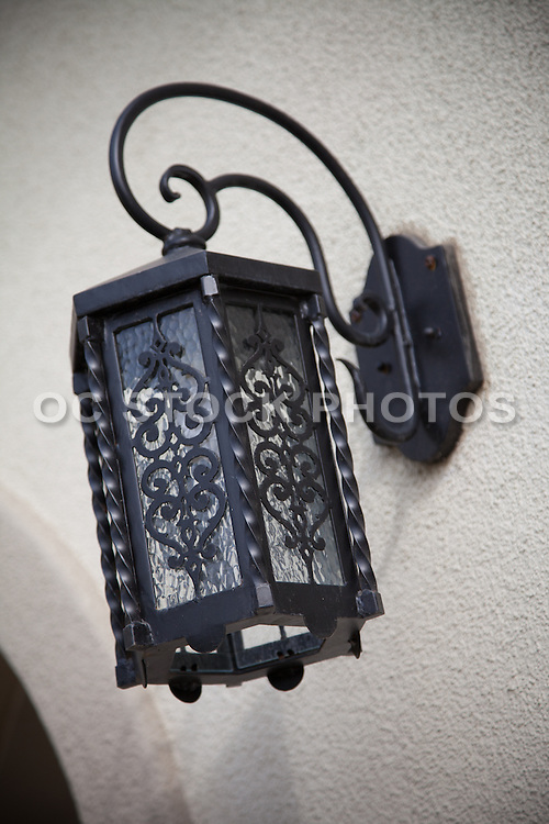Decorative Outdoor Lighting Stock Photo