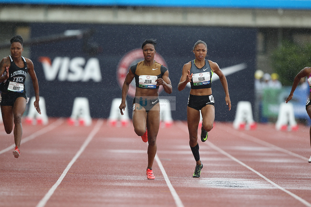 during day 2 of the U.S. Olympic Trials for Track & Field at Hayward Field in Eugene, Oregon, USA 23 Jun 2012..(Jed Jacobsohn/for The New York Times)....