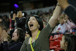 Akiko Yamazaki owner of the winning horse Ravel.<br />