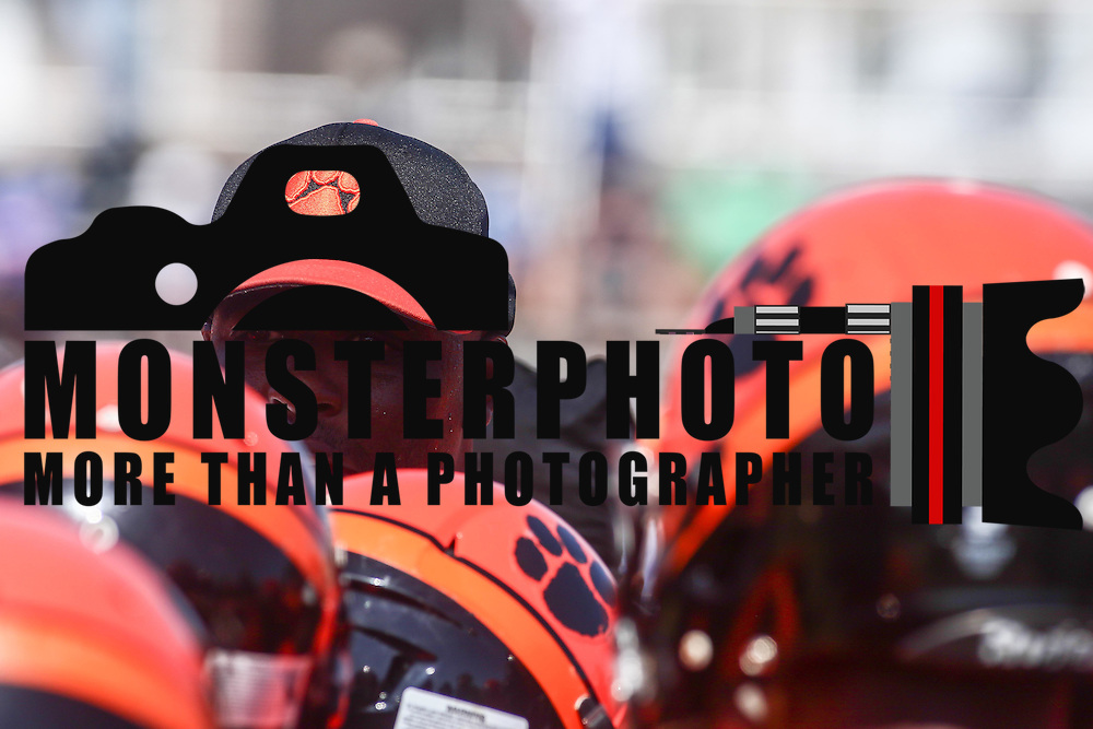 Tigers head coach Preston Brown motivates his players prior to a non-conference game between The Woodrow Wilson Tigers and The Northern Burlington Greyhounds Saturday, Sept. 17, 2016, at Mike Rozier Stadium in Camden, NJ.<br /> <br /> Preston Brown, told his players he would be doing so in order to highlight issues of social injustice in Camden.