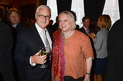 DAVID YOUNG and CAROLINE DAWNAY at a party to celebrate the publication of Strictly Ann by Ann Widdecombe held at the Carlton Club, 69 St.James's Street, London on 6th June 2013.
