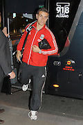 30.SEPTEMBER.2011. LIVERPOOL<br /> <br /> LIVERPOOL FC PLAYER, JORDAN HENDERSON , ARRIVES AT THE HOPE STREET HOTEL IN LIVERPOOL, BEFORE THEIR DERBY MATCH AGAINST EVERTON AT GOODISON PARK ON 1ST OCTOBER<br /> <br /> BYLINE: EDBIMAGEARCHIVE.COM<br /> <br /> *THIS IMAGE IS STRICTLY FOR UK NEWSPAPERS AND MAGAZINES ONLY*<br /> *FOR WORLD WIDE SALES AND WEB USE PLEASE CONTACT EDBIMAGEARCHIVE - 0208 954 5968*