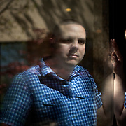 Nart Villeneuve of Trend Micro poses for a portrait at a Marriot hotel in Dulles, Virginia, March 27, 2012. Villeneuve wrote a report detailing how Chinese hackers have infiltrated Tibetan activists Japanese corporations and the Indian Defense Ministry.