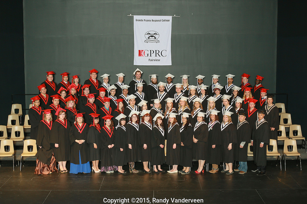 Photo Randy Vanderveen<br /> Fairview, Alberta<br /> 2015-03-14<br /> Grande Prairie Regional College Fairview convocation 2015 March 14.