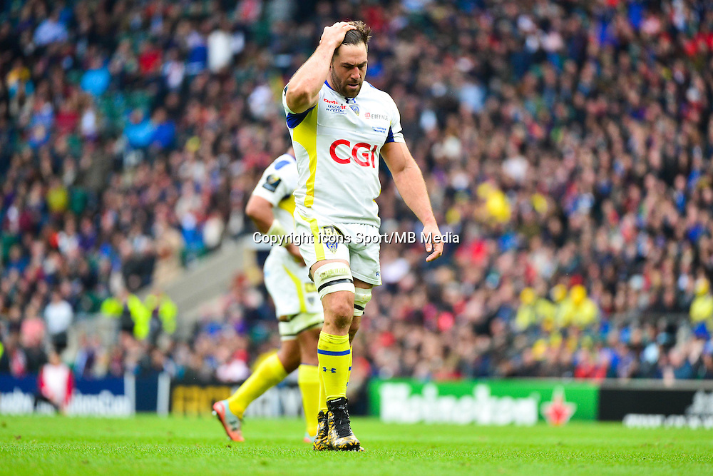 Jamie CUDMORE - 02.05.2015 - Clermont / Toulon - Finale European Champions Cup -Twickenham<br />