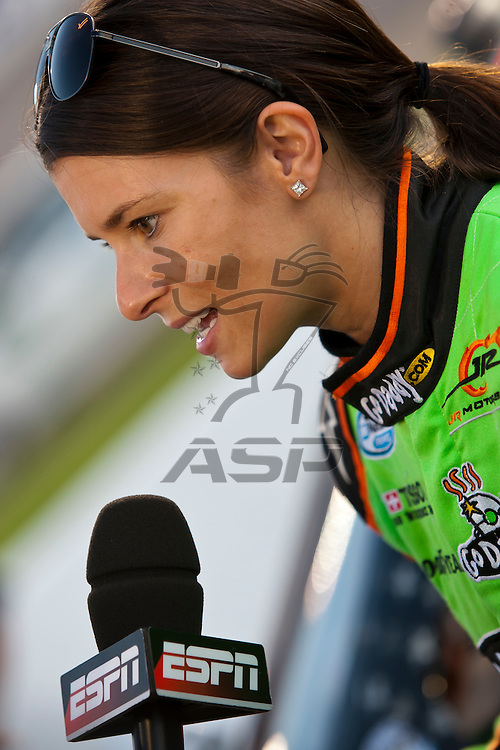 RICHMOND, VA  - SEP 09, 2011:  Danica Patrick prepares to take to the track for the Virginia 529 College Savings 250 at the Richmond International Raceway in Richmond, VA.
