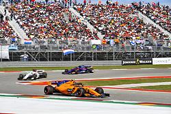 October 21, 2018 - Austin, United States - Motorsports: FIA Formula One World Championship; 2018; Grand Prix; United States, FORMULA 1 PIRELLI 2018 UNITED S GRAND PRIX , Circuit of The Americas#2 Stoffel Vandoorne (BEL, McLaren Honda) (Credit Image: © Hoch Zwei via ZUMA Wire)