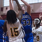 12/27/11 Wilmington DE: Wilmington Charter Senior Center Kelly Perillo #33  shoots the ball in paint during a Diamond State Classic game Tuesday Dec. 28, 2011 at St. Elizabeth High School in Wilmington Delaware...Special to The News Journal/SAQUAN STIMPSON