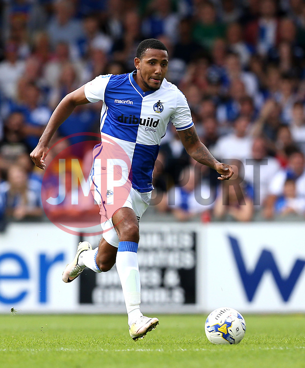 Cristian Montano of Bristol Rovers runs with the ball - Mandatory by-line: Robbie Stephenson/JMP - 14/08/2016 - FOOTBALL - Memorial Stadium - Bristol, England - Bristol Rovers v Oxford United - Sky Bet League One